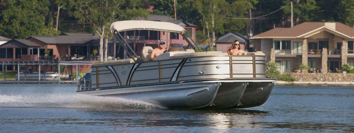 Veranda Pontoon boat